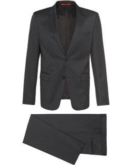 Slim-fit Suit In New Wool: 'aeron2/hamen2'