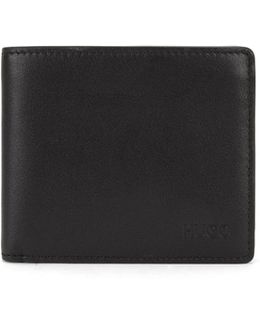 Wallet In Finely Grained Leather: 'subway_trifold'
