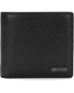 Bi-fold Wallet In Grainy Leather By Man