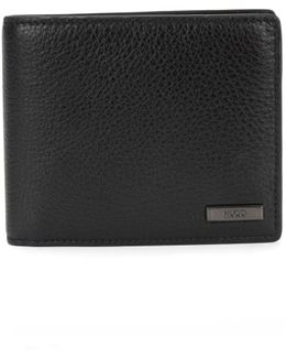 Wallet In Grained Leather: 'element_trifold'