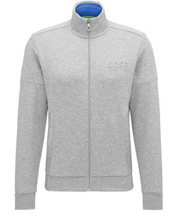 Regular-fit Sweatshirt In Double-face Fabric