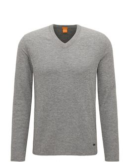 Slim-fit Sweatshirt In Double-faced Cotton-blend Jersey