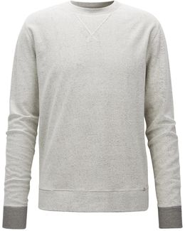 Relaxed-fit Reversible Sweatshirt In Cotton