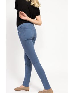 Cotton Over Dyed Skinny