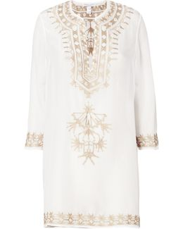 Embroidered Short Tunic
