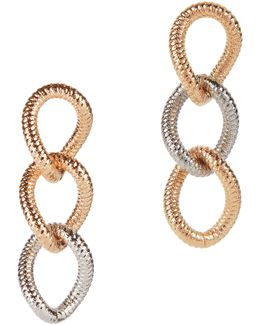 Raffina Two-tone Link Earrings
