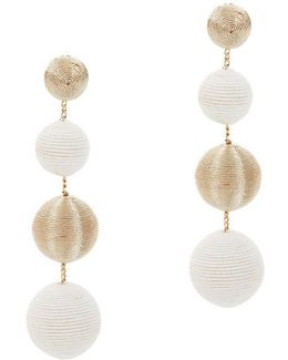 And Gold Gumball Drop Earrings