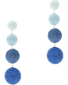 Blue Ombré Gumball Earrings