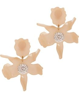 Crystal Lily Blush Earrings