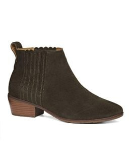 Liddy Suede Bootie