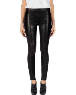 L8007 Edita Mid-rise Leather Legging