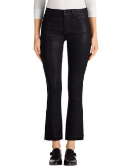 Selena Mid-rise Crop Boot Cut In Fearless