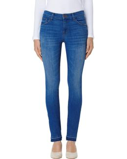 811 Mid-rise Skinny In Angelic