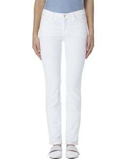 Amelia Mid-rise Straight In Blanc