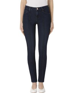 811 Mid-rise Pintuck Skinny In Fix