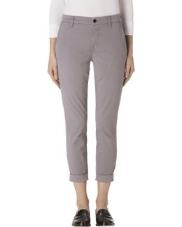 Josie Tapered Leg Trouser In Groove