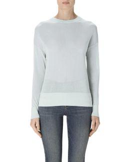 Oberon Sweater In Lichen