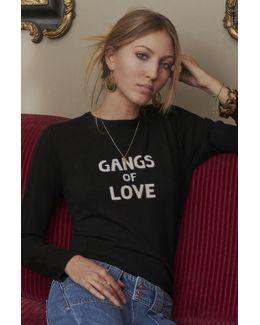 Gangs Of Love Jumper In Black
