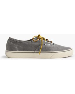 Vans Washed Canvas Authentic Sneakers