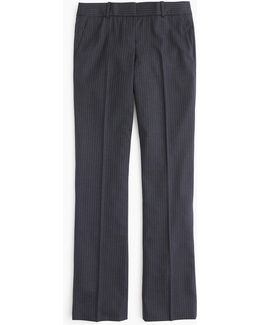 Petite Campbell Trouser In Pinstripe Super 120s Wool