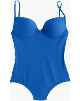Underwire Push-up One-piece Swimsuit