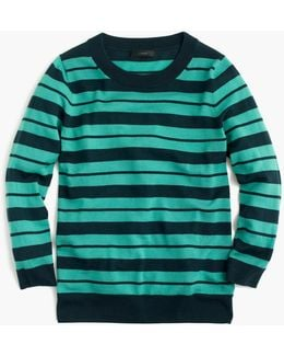 Tippi Sweater In Mixed Stripe