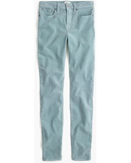 "9"" High-rise Toothpick Corduroy Pant"