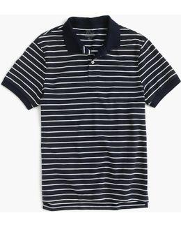 Classic Piqué Polo Shirt In Stripe