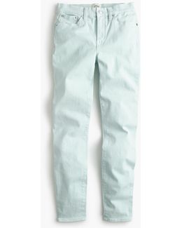 "9"" Lookout High-rise Garment-dyed Crop Jean"