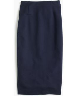 Skinny Pencil Skirt In Ponte