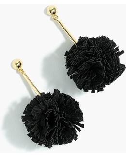 Gathered Carnation Earrings