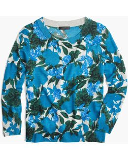 Tippi Sweater In Sequin Flowers