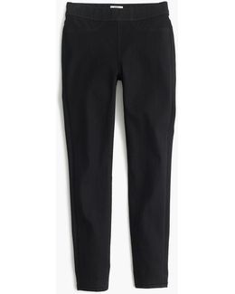Petitepull-on Toothpick Jean In Black