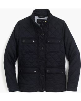 Tall Quilted Downtown Field Jacket
