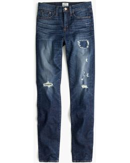 "Petite 9"" High-rise Toothpick Jean In Lassiter Wash"