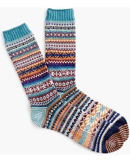 Chup Teal Socks