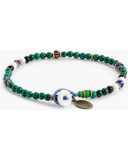 Mikia Malachite Bead Bracelet
