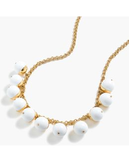 Beaded Gold Necklace