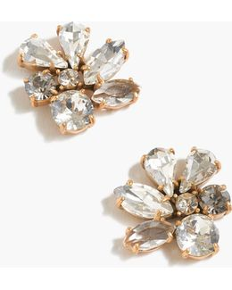 Cluster Stone Earrings