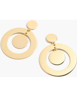 Round Orbit Earrings