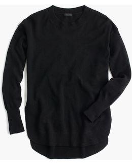 Italian Cashmere Side-slit Tunic