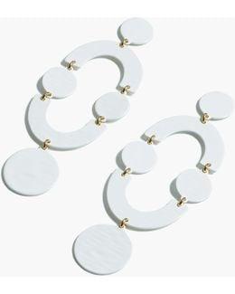 Tonal Circlet Earrings
