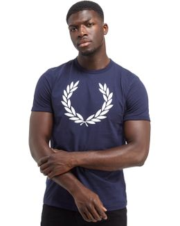 Laurel Wreath Ringer T-shirt