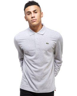 Alligator Long Sleeve Polo Shirt
