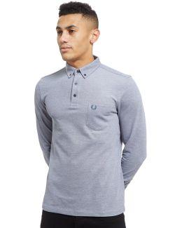Oxford Long Sleeve Polo Shirt