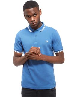 Twin Tipped Short Sleeve Polo Shirt