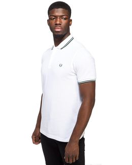 Twin Tip Short Sleeve Polo Shirt