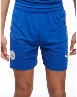 Leicester City Fc 2017/18 Home Shorts