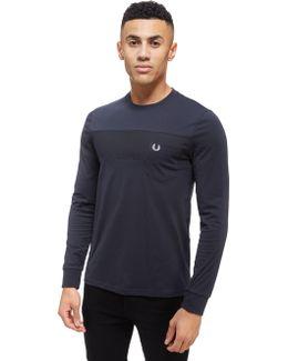 Long Sleeve Textured T-shirt