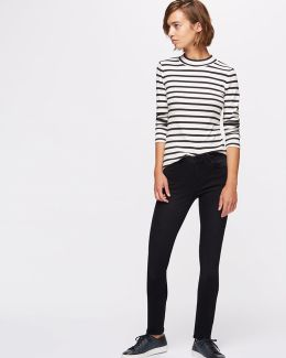 32 Inch Richmond Black Skinny Jeans